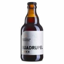 Pannonhalmi Quadrupel barna sör 10% 0.33l