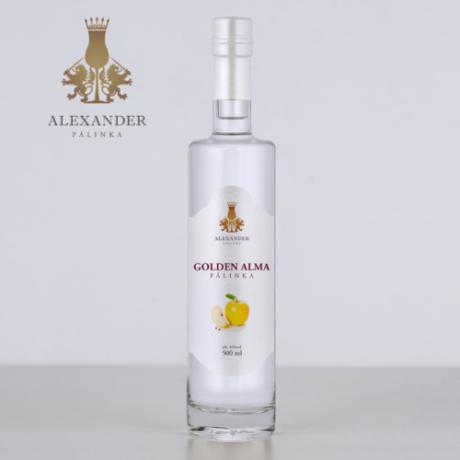 Alexander Golden Alma pálinka 44% 0.5l
