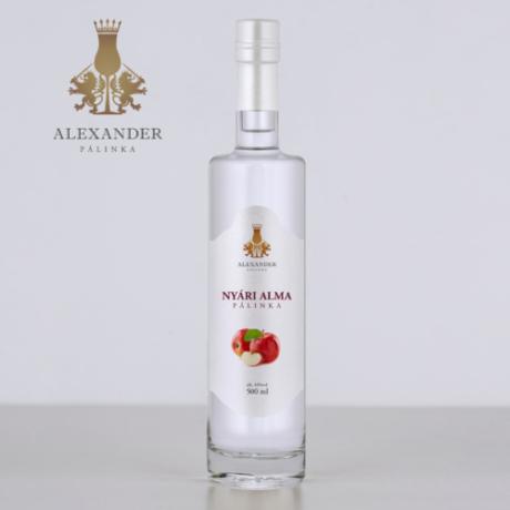 Alexander Nyári Alma pálinka 44% 0.5l