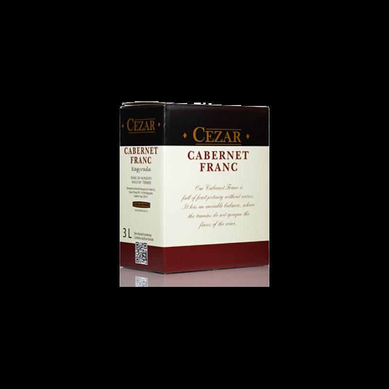 Cezar Cabernet Franc 2017 3L