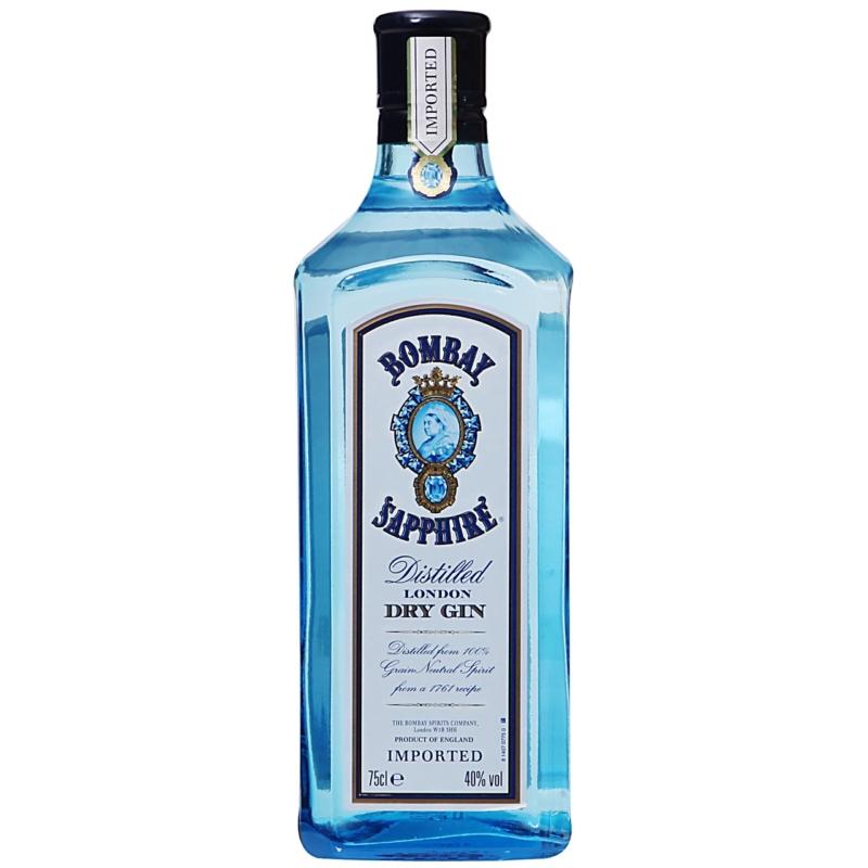 Bombay Sapphire gin 40% 0.7l