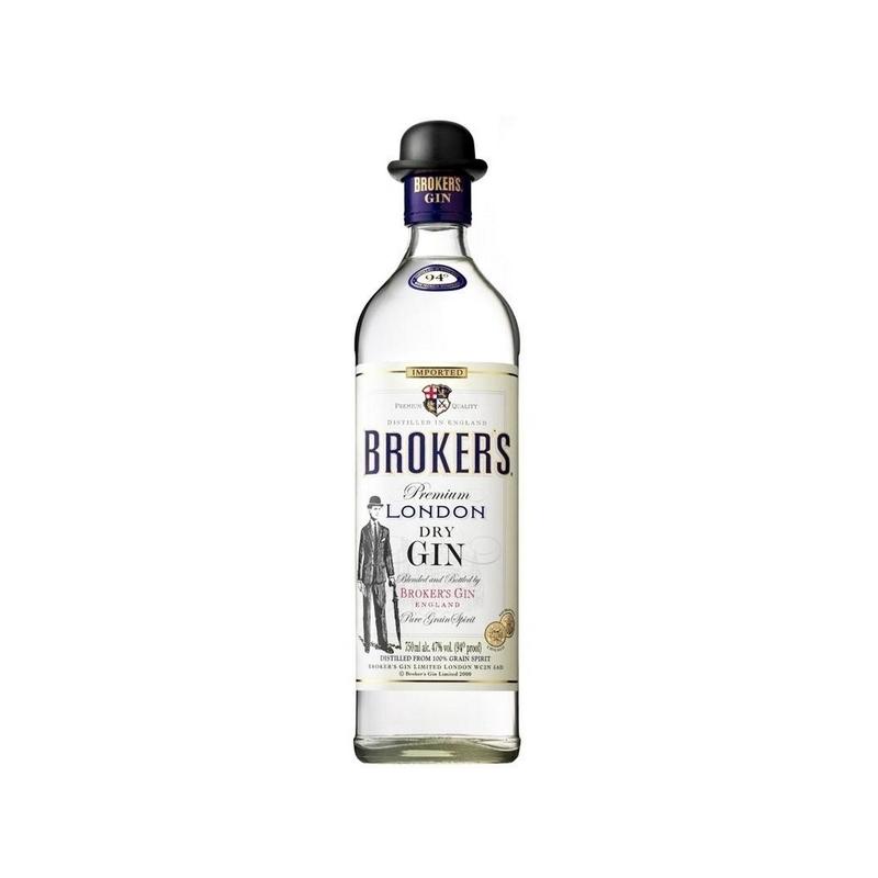 Brokers 40 gin 40% 0.7l
