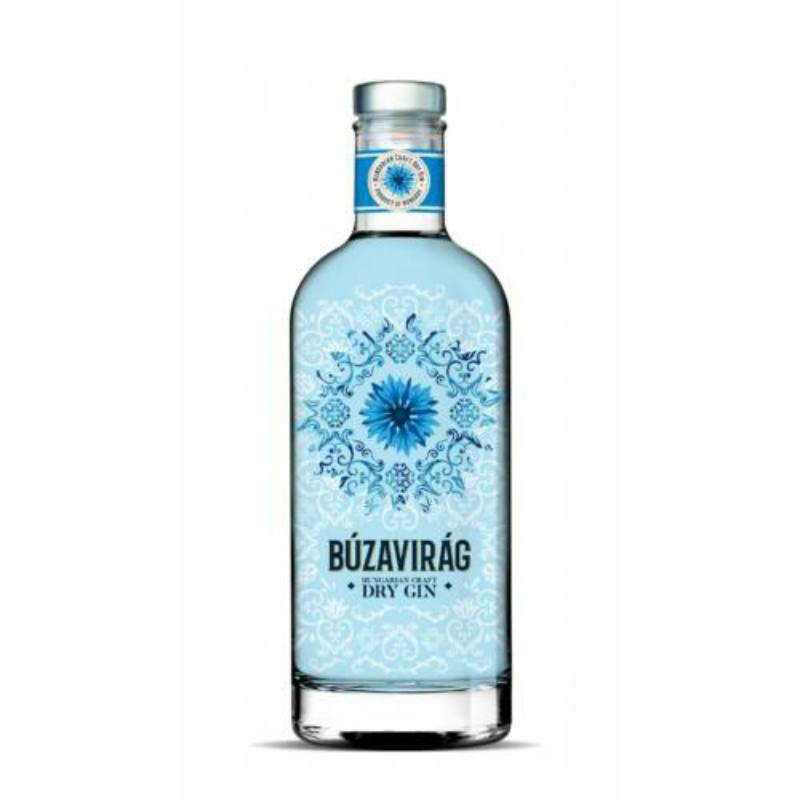 Búzavirág Kézműves magyar gin 40% 0.7l