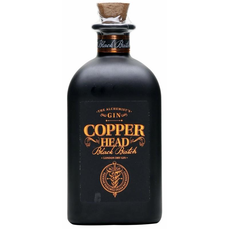 Copperhead Black Batch gin 42% 0.5l