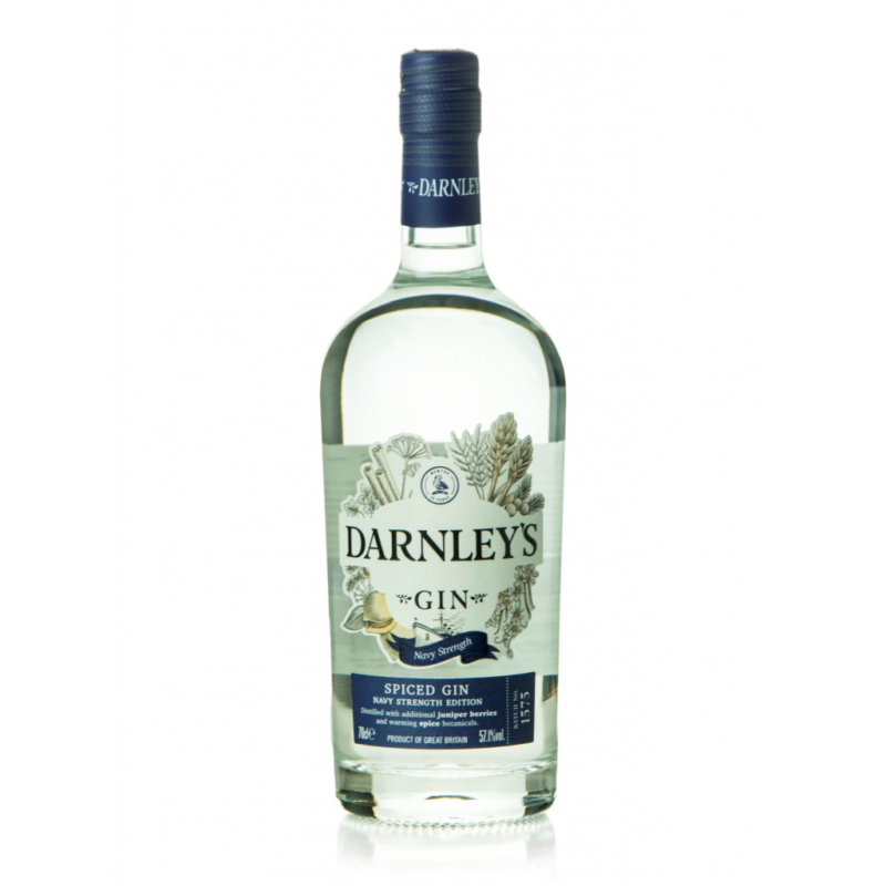 Darnleys View Spiced Navy Strength gin 57.1% 0.7l