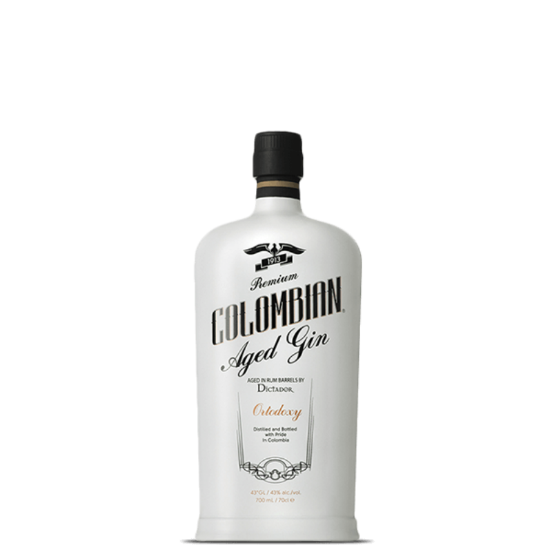 Dictador Columbian Aged White gin 43% 0.7l