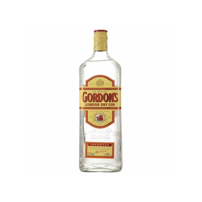 Gordon's gin 1l 37.5%