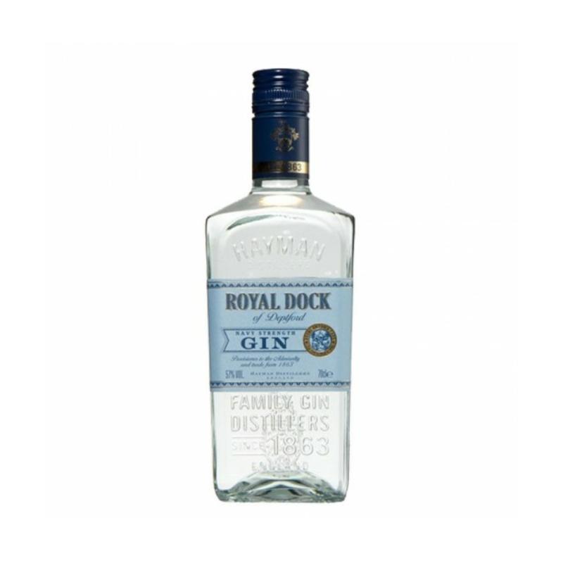 Royal Dock gin 57% 0.7l