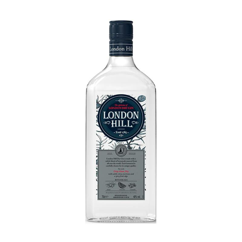 London Hill gin 40% 0.7l