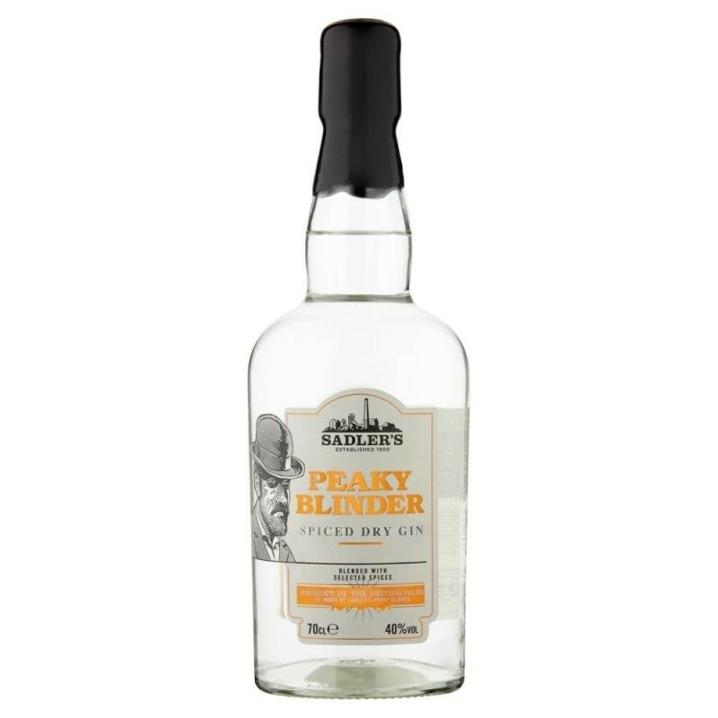 Peaky Blinder Spiced Dry gin 40% 0.7l