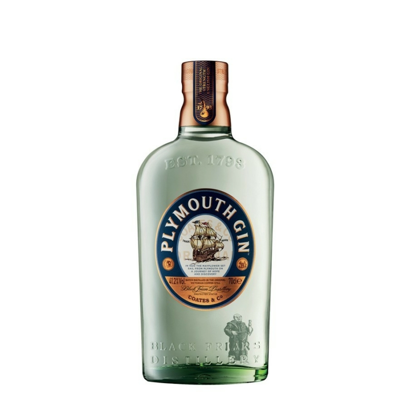 Plymouth gin 41.2% 0.7l