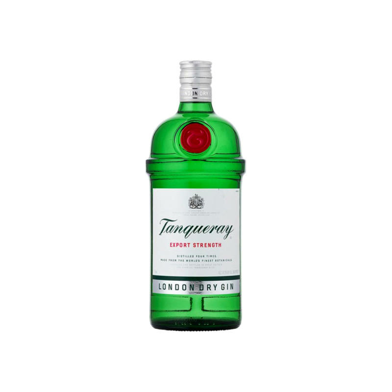 Tanqueray London Dry gin 43.1% 1l