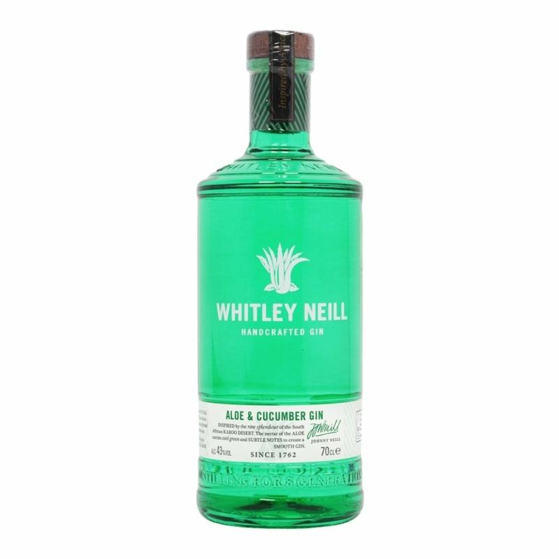 Whitley Neill Aloe Cucumber gin 43% 0.7l
