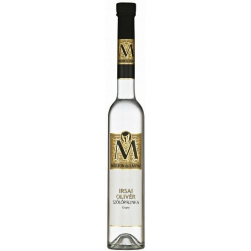 Márton és Lányai Irsai Olivér szőlő pálinka 40% 0.35l