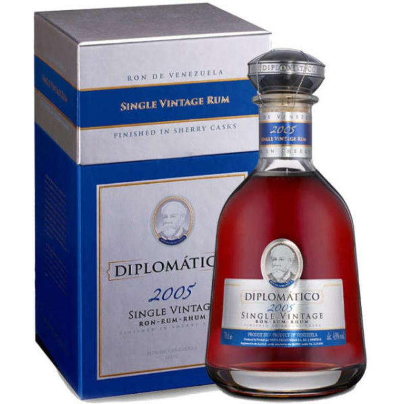 Diplomatico Single Vintage 2005 43% 0.7l