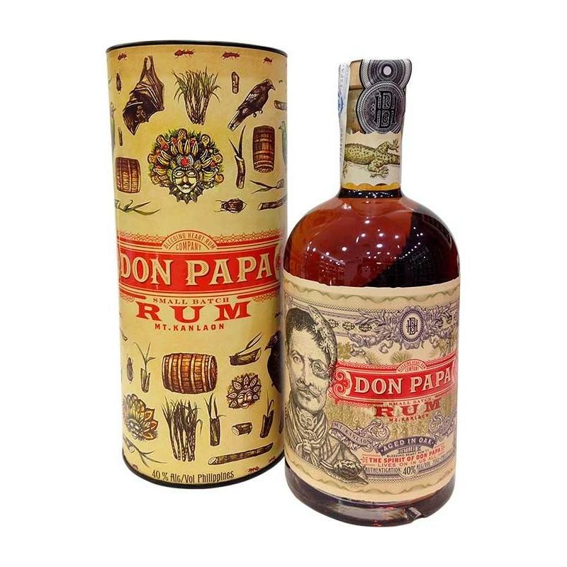 Don Papa rum díszdobozban 40% 0.7l