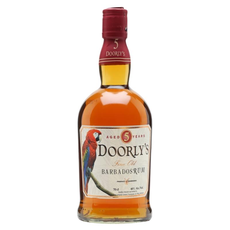 Doorlys 5 éves Fine Barbados 40% 0.7l