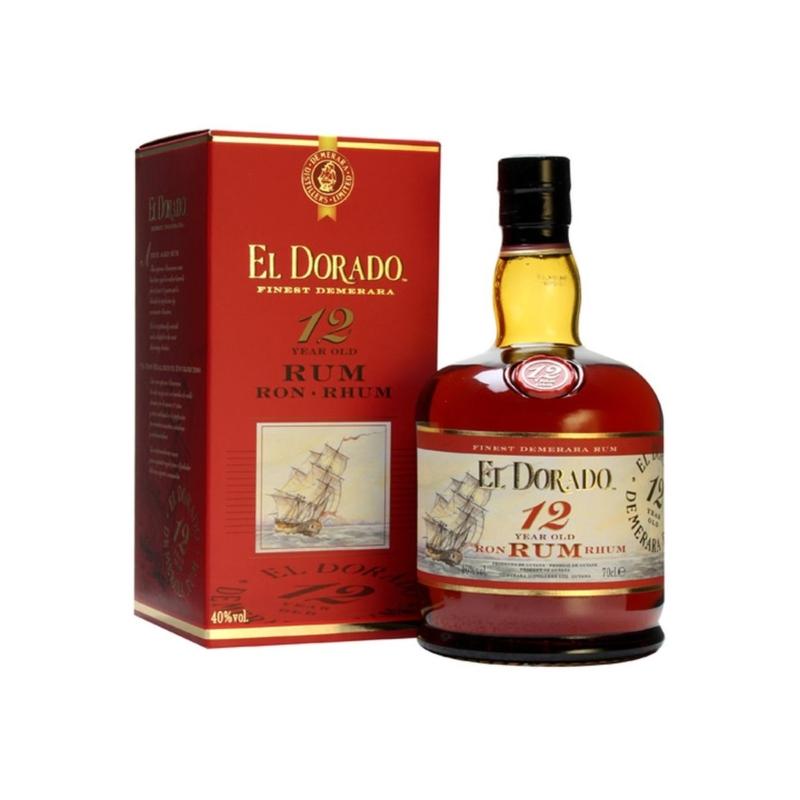 El Dorado 12 éves 40% 0.7l