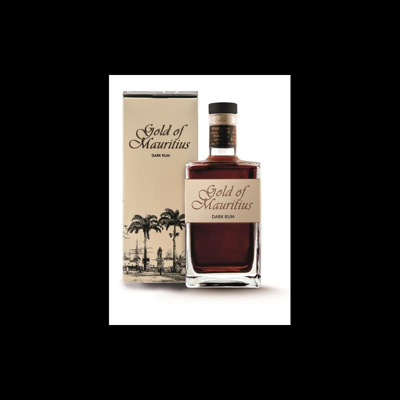 Gold of Mauritius Dark rum 40% 0.7l