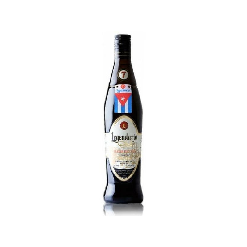 Legendario Elixir de Cuba 7 éves 34% 0.7l