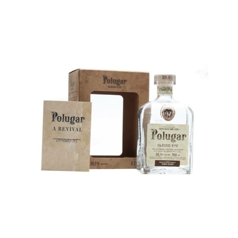 Polugar Classic Rye vodka 38.5% 0.7l