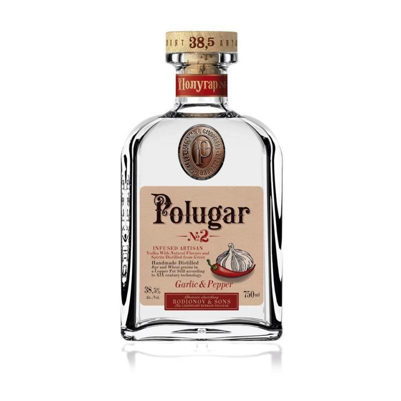 Polugar N.2 - Garlic & Pepper 38.5% 0.7l