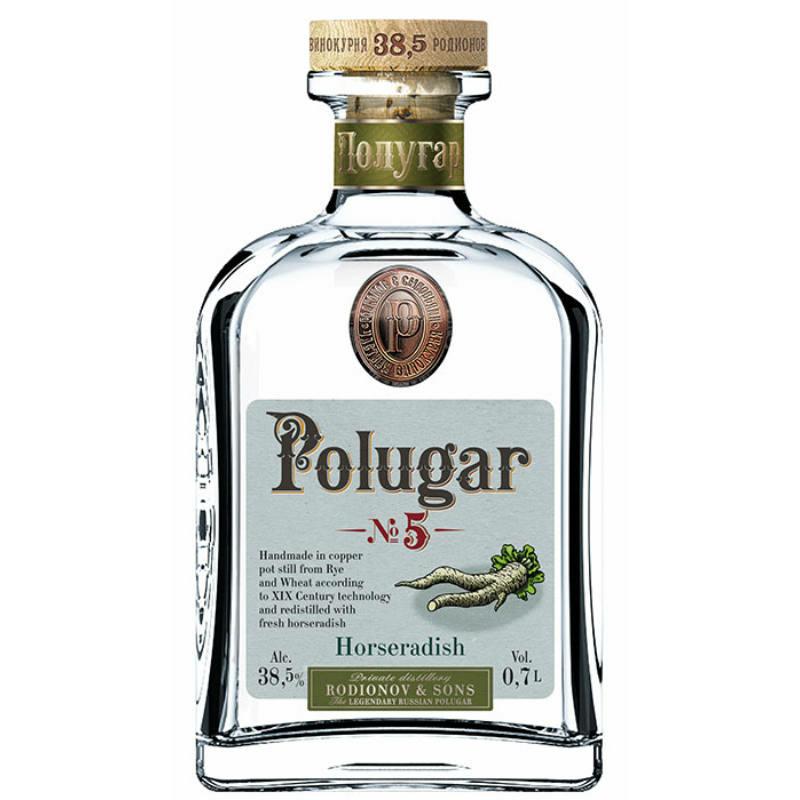 Polugar N.5 - Horseradish 38.5% 0.7l