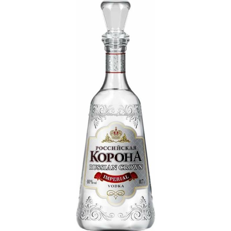 Russian Crown Premium vodka 40% 0.7l